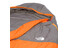 The North Face Aleutian 35/2 - Sac de couchage - Long gris/orange